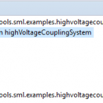 HVCS object model in the EMF tree editor
